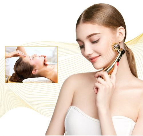 microcurrent face lifting device,face massage tool