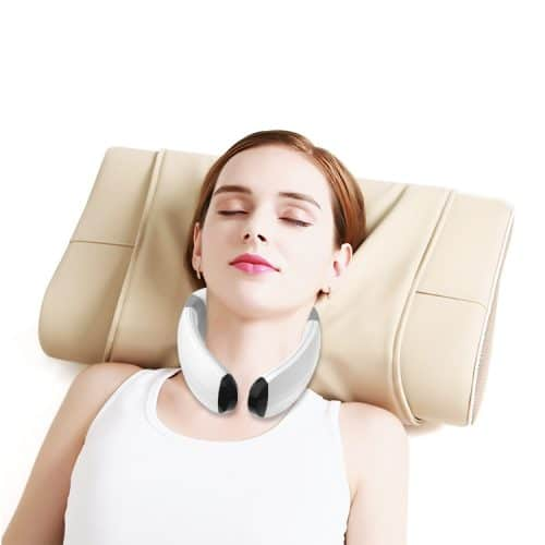 Neck muscle massager