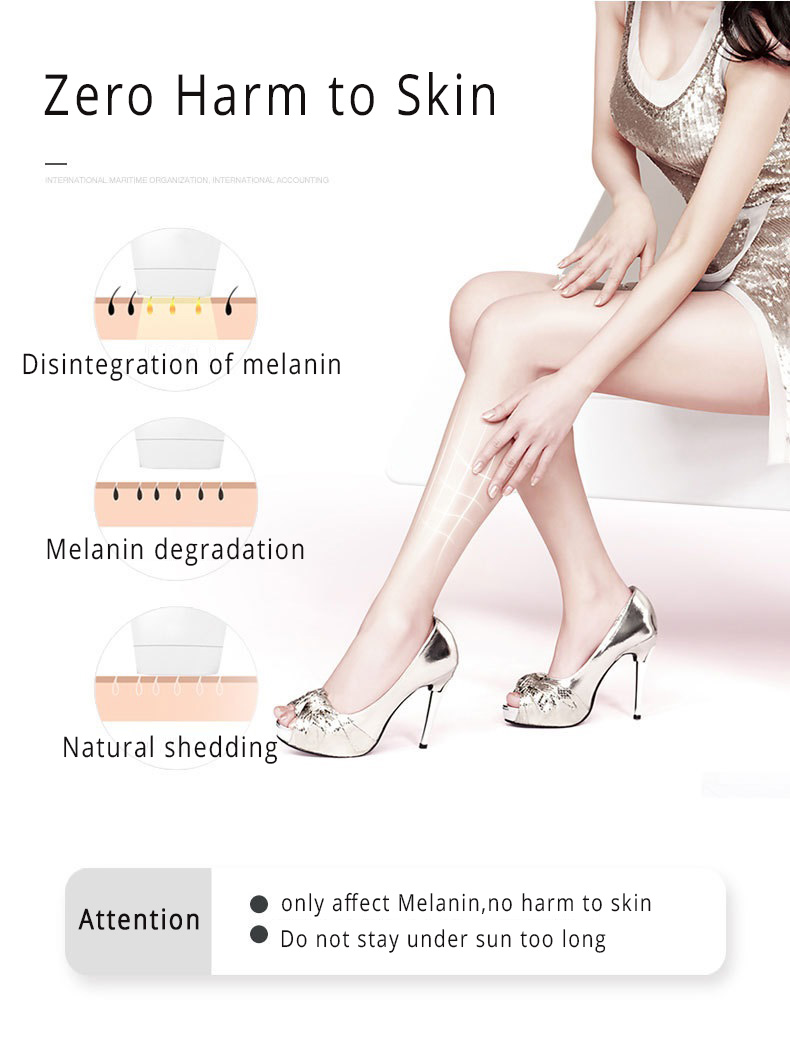 Permanent IPL Body Hair Removal , D3 painless Intense Pulsed Light Hair Removal 2