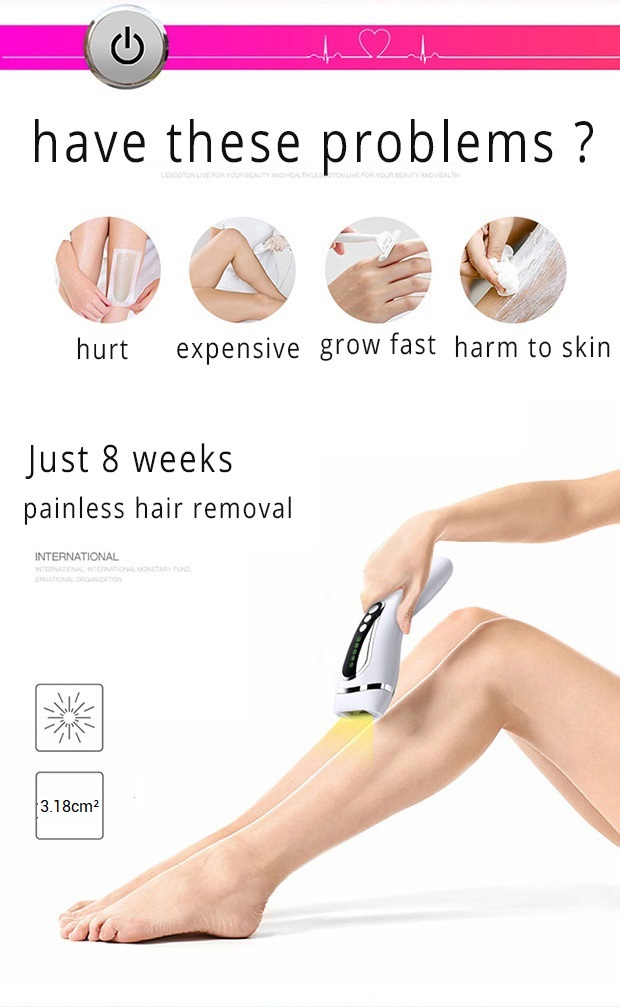 Permanent IPL Body Hair Removal , D3 Intense Pulsed Light Hair Removal 6