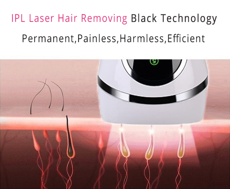 Permanent IPL Body Hair Removal , D3 painless Intense Pulsed Light Hair Removal 1