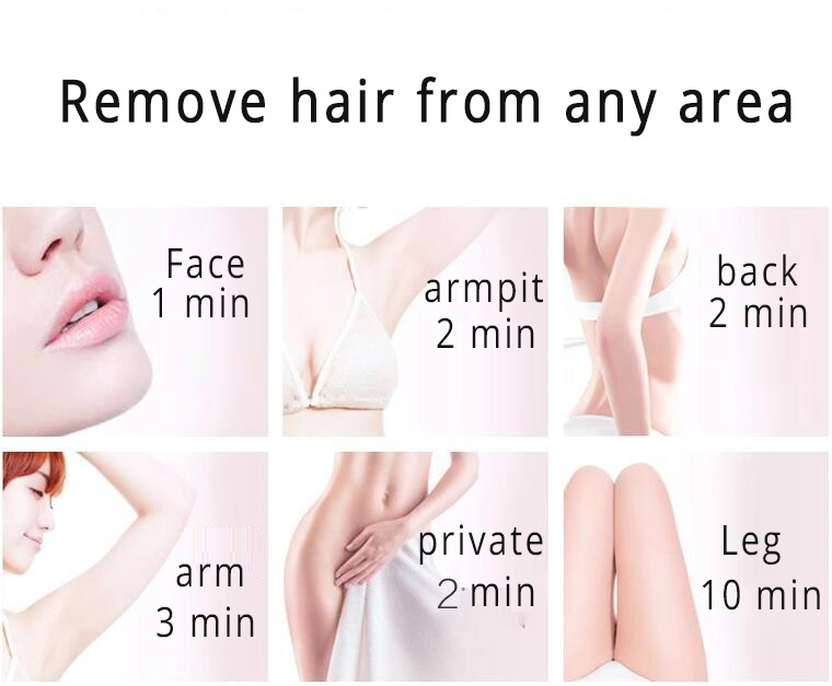 Permanent IPL Hair Removal , D3 painless Intense Pulsed Light Hair Removal 1